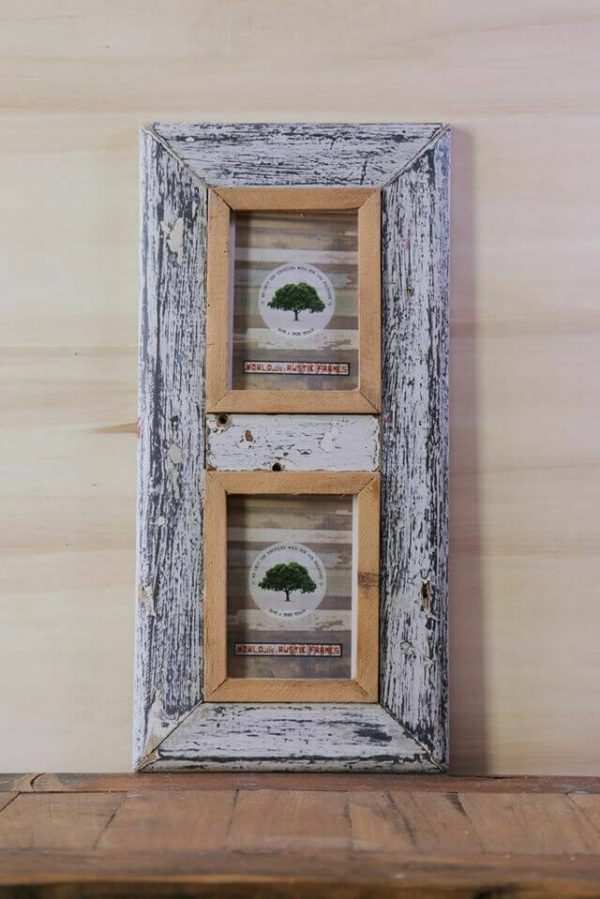 A6 rustic frame set of 2