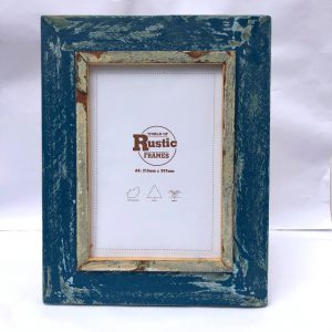 Denim blue A4 Frame