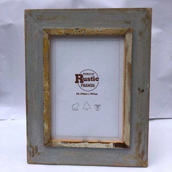 grey a4 picture frame