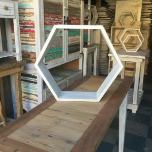 Large Hexagon shelf