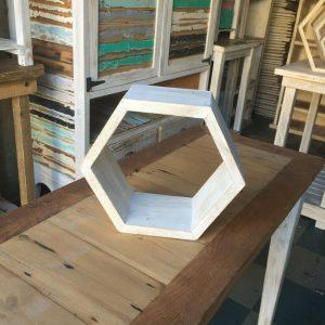 Small Hexagon Shelves