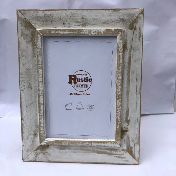 white a4 picture frame