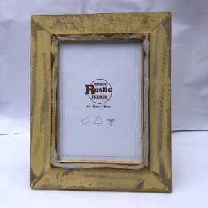 yellow a4 picture frame
