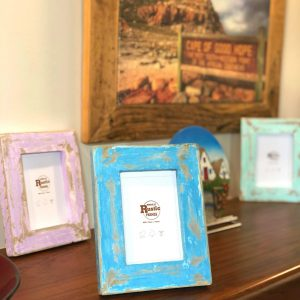 mini rustic picture frames
