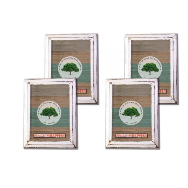 White Rustic Picture Frame