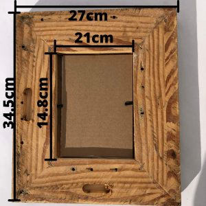 A5 picture frame sizing