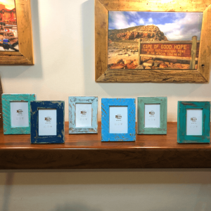 Sea Blue Mini Picture frame set of 6
