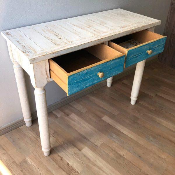 White Bedroom Desk chair set