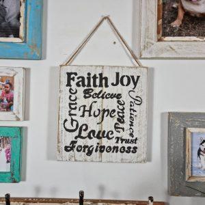 Positive Vibe Farmhouse Sign